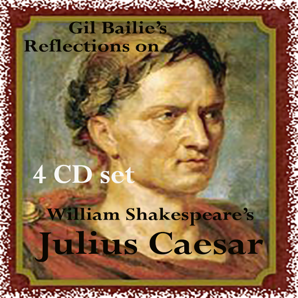 a reflection of the play julius caesar by william shakespeare Theatre's production of william shakespeare's julius caesar for the eye sees not it self but by reflection that she demanded a play be written about him.