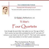 TS Eliot's Four Quartets